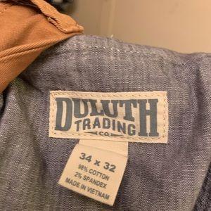 Duluth Pants size 34x32